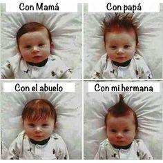 Peinados de Bebé