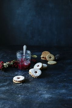 LINZER COOKIES   Sweet And Sour