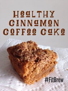 Healthy Cinnamon Coffee Cake_FitBrew