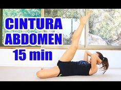 Ejercicios para CINTURA y ABDOMINALES en 15 min | Elena Malova - YouTube