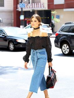 Olivia Culpo's Insanely Cool Mules are 40% Off