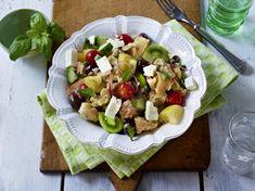 Unser beliebtes Rezept für Ciabatta-Brot-Salat mit Tomaten, Oliven und Feta und mehr als 55.000 weitere kostenlose Rezepte auf LECKER.de.
