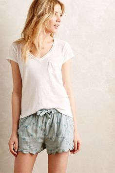 Scalloped Tap Shorts - anthropologie.com #anthrofave