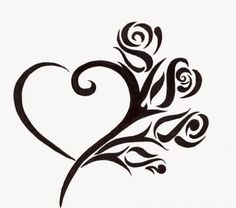 heart on Pinterest Heart Tattoo Designs Tattoo Hearts and Heart Ta…