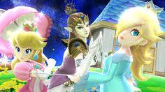 Peach, Zelda and Rosalina