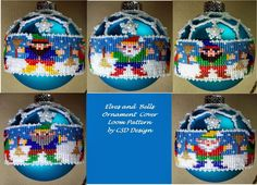 Beading Patterns and Tutorials Making Changes I have been working on making ornament covers using two of Deb Moffet-Hall's Heirloom Orna...