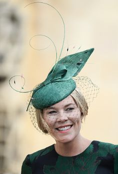 Autumn Phillips attends the wedding of Princess Eugenie of York and Jack Brooksbank at St George's Chapel in Windsor Castle on October 2018 in Windsor, England. (Photo by Pool/Samir Hussein/WireImage) Princess Eugenie, Princess Anne, Autumn Phillips, Jack Brooksbank, Eugenie Of York, Jones Family, Windsor Castle, Saint George, Windsor England