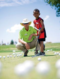 Great golfing tips for children. #golf