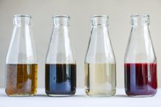 my favorite cold brew coffee with homemade vanilla bean, blackberry, almond and cinnamon-brown sugar syrups I howsweeteats.com