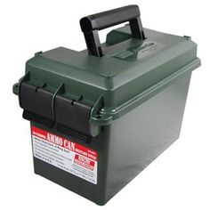 MTM Ammo Can Storage 50 Caliber Military Style Water-resistant Dual Latch Case