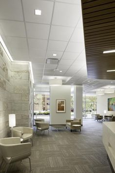 MD anderson Cancer Center at Copper Camden, NJ Radiation Oncology waiting area. #healthcare
