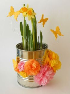 easter decoration Celebrations, Planter Pots, Anna, Easter, Crafty, Decoration, Creative, Holiday, Flowers