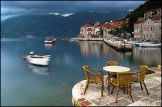 Perast, Bay of Kotor, Montenegro