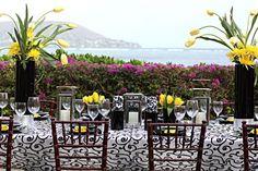 beach wedding reception ideas