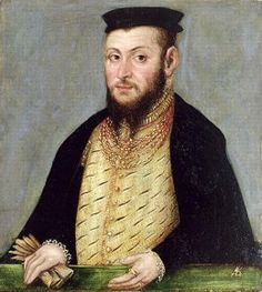 Portrait of King Sigismund II Augustus of Poland, by Lucas Cranach the younger.