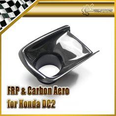 New Car Styling For Honda Integra DC2 JDM Front Bumper Air Duct Cover Carbon Fiber Car
