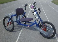 Bicycles For Handicapped People Bikomobil Bike Bicycle