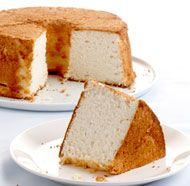 Classic Angel Food Cake- very good basic recipe. Very dense, moist but lovely tender crumb