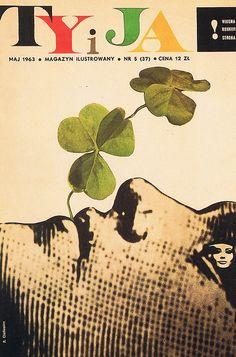 "♥ Roman Cieslewicz - ""Ty i Ja"" May 1963"