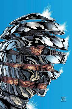 Comic - Hunt For Wolverine (Steve McNiven Cover) Marvel Wolverine, Death Of Wolverine, Logan Wolverine, Marvel Dc Comics, Marvel Avengers, Marvel Art, Marvel Heroes, Cosmic Comics, Univers Marvel