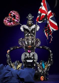 Lanvin: In celebration of the Jubilee Harrods commissioned 31 global brands to produce a crown.