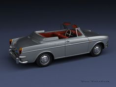 A Garagem Digital de Dan Palatnik | The Digital Garage Project: VW Type 3 Cabriolet