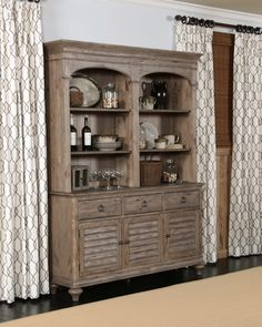 Kincaid Furniture Dining Room Hastings Open Hutch Buffet Pkg 76 079P