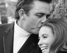 Johnny Cash & June Carter Cash...oh to be loved by a man that way.