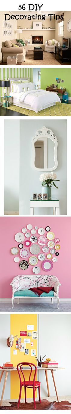 36 DIY Decorating Tips
