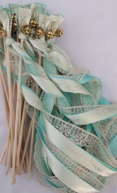 #ButterFlyInspiration: Grand Exit Bells & Ribbons  - ButterFlyBridalEvents.com