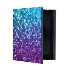SOLD iPad 2/3/4 Case Mosaic Sparkley Texture! #Zazzle #iPad #Case #mosaic #sparkley #texture #blue #purple #iPad2 #iPad3 #iPad4   http://www.zazzle.com/ipad_2_3_4_case_mosaic_sparkley_texture_ipad_case-256812787142651916