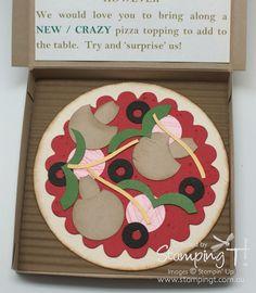 Tanya's neat Pizza Party Invitation.