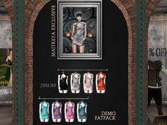 DEAD DOLLZ - dress/fatpack, 200L each/1400LItem 15 of 71  Imagine dragons, mesh body compatible, 8 options available, demo available, 200L each/1400L fatpack.    Brand New We ♥ Roleplay!   Seraphim.