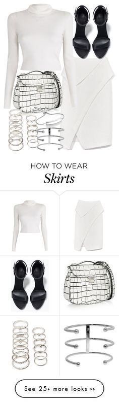 """Untitled #18990"" by florencia95 on Polyvore featuring Proenza Schouler, A.L.C., Zara, Forever 21 and Monica Vinader"