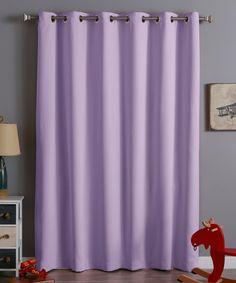 Loving This Silver Gabriella Blackout Curtain Panel On #zulily!  #zulilyfinds | Zulily | Pinterest