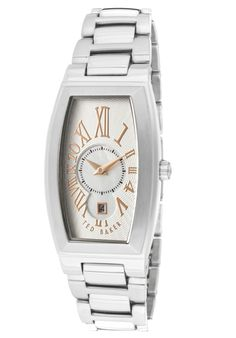 Price:$46.54 #watches Ted Baker TE4016, Whether it's a night out on the town or a day at the park this versatile Ted Baker timepiece always makes a scene.