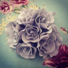 Sugar roses #greywedding #sugarroses