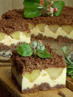 Fancy Desserts, I Want To Eat, Tiramisu, Cheesecake, Cooking, Ethnic Recipes, Food, Kitchen, Elegant Desserts