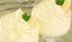 Mousse au citron et mascarpone - Page 2 of 2 - Je buzz Mousse Mascarpone, Lemon Curd, Icing, Pudding, Sweets, Snacks, Saint Jacques, Croissants, Food