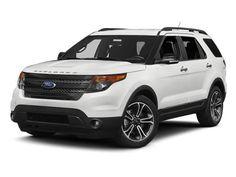 New 2014 Ford Explorer Sport 2014 Ford Explorer, White Ford Explorer, Ford Explorer Limited, Ford Edge, Car Ford, Ford Trucks, My Dream Car, Dream Cars, Dream Life