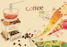 or coffee.......swirling art....