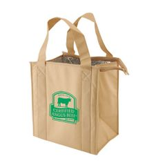 Roomy and durable, this thermo bag makes saving the environment easy!