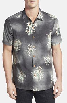 Men's Tommy Bahama 'Bene Bamboo Print' Original Fit Short Sleeve Shirt