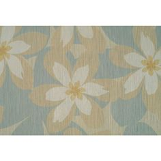 56 sq. ft. Bluestone Textured Floral Wallpaper