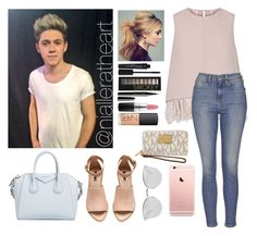 """""""Date with Niall"""" by nialleratheart on Polyvore featuring The 2nd Skin Co., Topshop, Smashbox, Forever 21, Marc Jacobs, MAC Cosmetics, NARS Cosmetics, Givenchy, H&M and Fendi"""