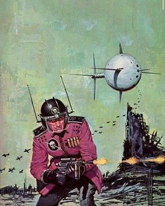 Ed Valigursky - Space Viking, / The Science Fiction Gallery Sci Fi Books, Retro Futuristic, Sci Fi, Scifi Fantasy Art, Sci Fi Art, Pulp Fiction, Vintage Space, Retro, Space Art