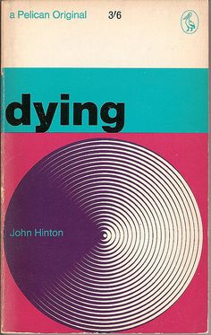 "Book Cover. ""Dying"". Pelican.  I haven't read it, I just like the cover."
