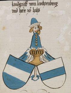 Wappenbuch des St. Galler Abtes Ulrich Rösch Heidelberg 15. Jahrhundert Cod. Sang. 1084 Folio 338