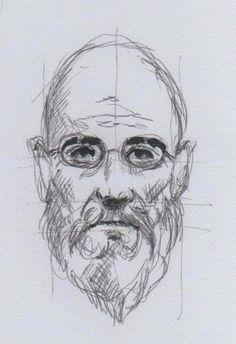 Massimo Capogna - Artist: Roller Tip Pen.