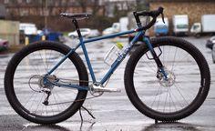 Velo Orange Piolet | Drop-bar 29er touring bike | here set up as 29+ | approx $650